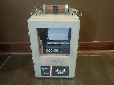 Isco 4230 Bubbler Flow Meter Good Working Order