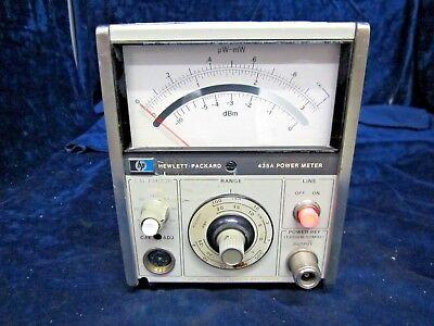Hp 435a Power Meter No Probe Head Module