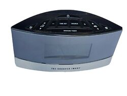 Sharper Image Alarm Clock Sound Soother Model EC-B150 white noise 20 sounds