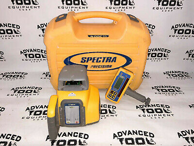 Trimble Spectra Precision Ll300n Automatic Rotary Laser Level W Hl450 Receiver