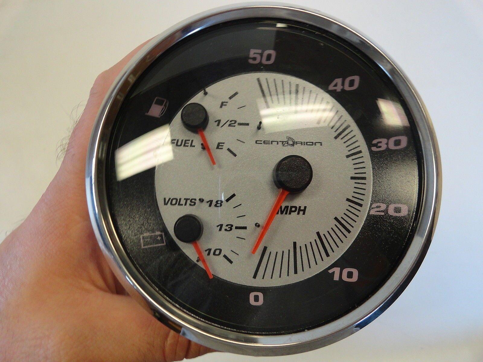 Ski Centurion Speedometer Multi Function Gauge Fuel   Volt