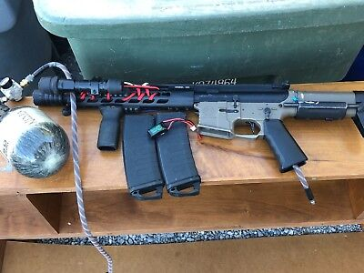 krytac pdw polarstar jack with two mags air tank and batery bundle