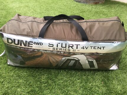Dune - 4WD Sturt Series 11 - 4 person tent - Used once. & dune tent in Sydney Region NSW | Gumtree Australia Free Local ...