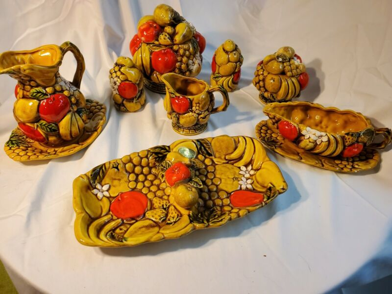 Vintage Harvest By Ardco Fine Quality Set Of 8 Table Set