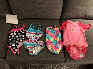 EUC 12 months bathing suits