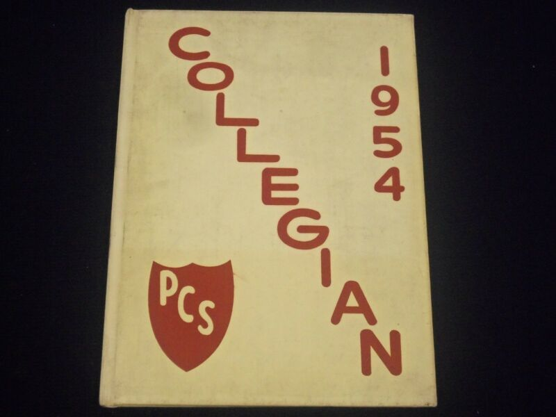 1954 COLLEGIAN PASSAIC COLLEGIATE SCHOOL YEARBOOK - NEW JERSEY - YB 271