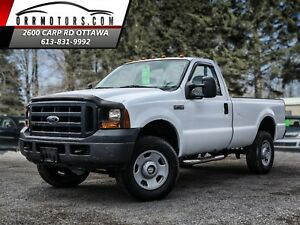 2007 Ford F-350 XL 4X4 LOW KMS