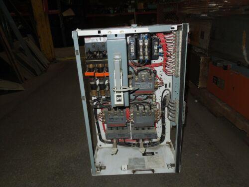 "Siemens Tiastar Size 2 Reversing 2 Speed Starter MCC Bucket Fusible 24""T Used"
