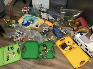 Huge playmobil collection