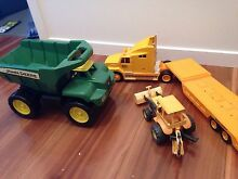 Toy trucks and digger - excellent condition Wavell Heights Brisbane North East Preview