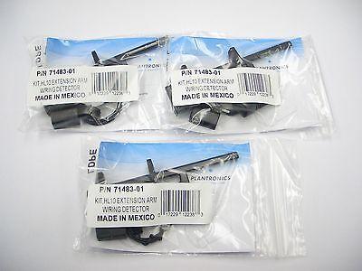 3 Plantronics Hl10 Remote Handset Lifter Verlängerungsarm Ring Detektor Für Remote Handset Lifter