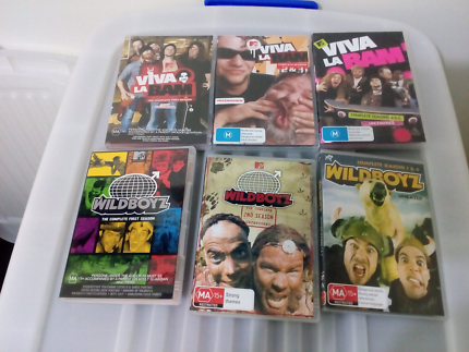 wild boys and viva la bam the complete series dvd