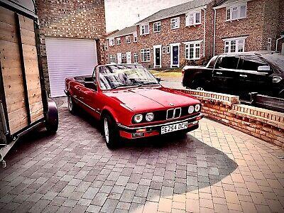 BMW E30 convertible for sale.