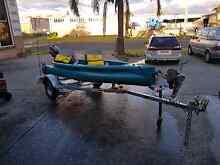 Canoe motorized 4.5hp Albion Park Rail Shellharbour Area Preview