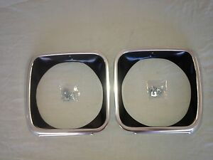 HOLDEN TORANA BATHURST LJ GTR XU1 ALUMINIUM HEAD LIGHT HEADLIGHT SURROUNDS