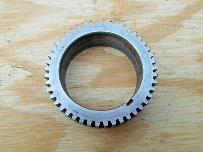 Logan 11 Lathe Spindle Gear From 955 Machine