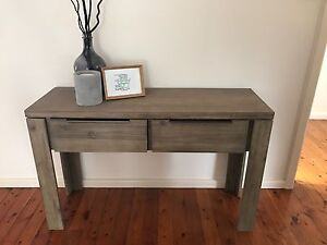 Wooden side table Denistone East Ryde Area Preview