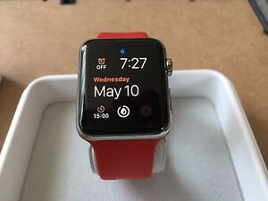 Apple Watch 42 Stainless Steel.