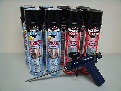 Fomo Handi Foam - 4 Window Door - 4 Gap Fill - Ht300 Gun - Its Great Stuff