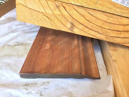 130x12mm Spotted Gum Winchester Profile (Colonial) Skirting board