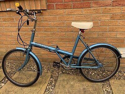 "Triumph Traffic Master, Fold Up Bike, 3 Spd, 20"" Rims"
