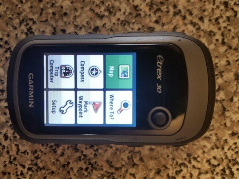 Garmin eTrex 30 Handheld GPS + GLONASS receiver navigator portable outdoor