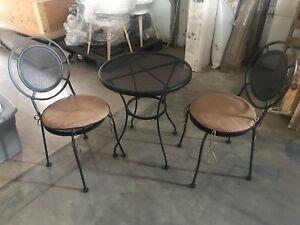 Cast iron bistro set