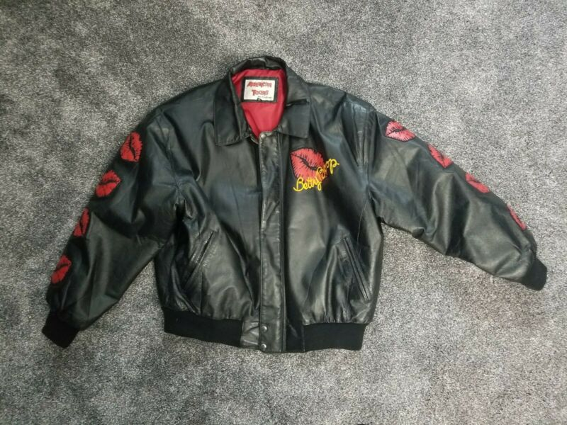 BETTY BOOP  AMERICAN TOONS   MOTORCYCLE BIKER   LEATHER JACKET  SIZE XL  WOMENS