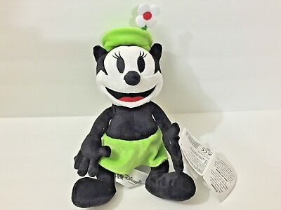 """Disney Parks Exclusive Ortensia Oswald the Lucky Rabbit Girlfriend 9"""" Plush Doll"""
