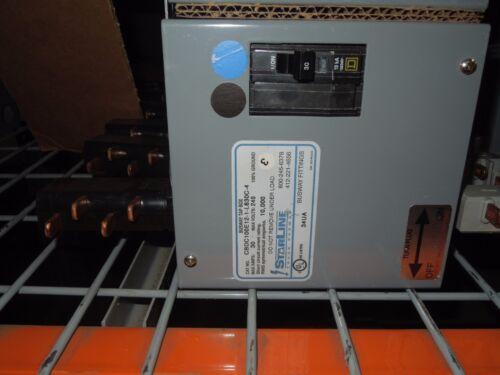 Starline Busway Tap Box Cbdc100e12-1-l630c-4 30a 2p 240v (black/blue) Used