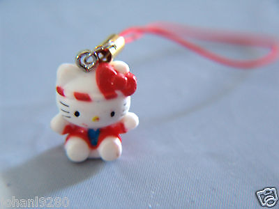 Hello Kitty,  hanger voor gsm, ipod,mp, pennenzak, ... 20 x 15,5 mm