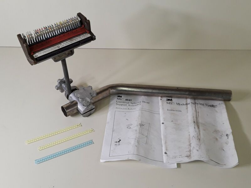 3M MS2 Modular Splicing Head w/Instructions & Support Arm