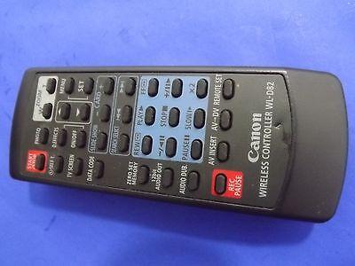 GENUINE Canon Wireless Controller WL-D82 Video Camera Remote Control