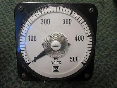 Yokogawa Dc Volt Meter Db40 Range 0-500v Used