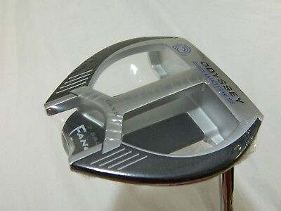 "New Odyssey Golf Works Tank 2Ball Fang NI 35"" Putter 35 inch 2 Ball - New Insert"