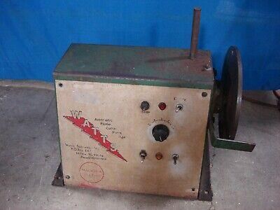 Watts W60-6 Automatic Flame Cutter Short Pipe Welding Beveler Beveling Machine