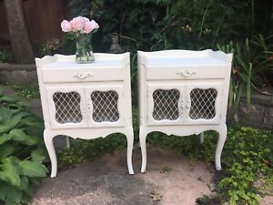 Delivery - pair of antique French country night stands