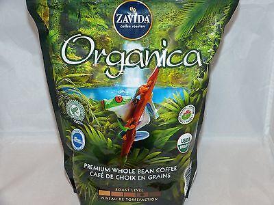 Zavida Organica, Premium Whole Bean Coffee, 100% Arabica Canada 907g 2 lb ()