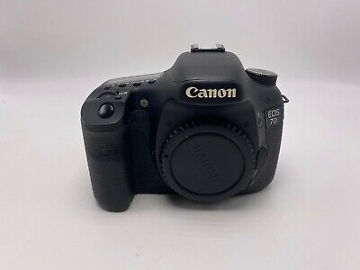 Canon EOS 7D 18.0MP Digital Camera Body! USPS 2-3 days w/ tracking + insurance!!