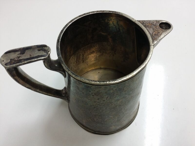 38 LBS Copper Nickel Silver Soldered Scrap 1928 Norte Dame Water Pitchers