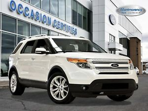 2015 Ford Explorer Limited 4WD 7 PASS+TOIT+GPS+CAM