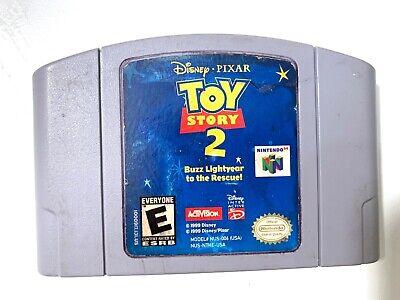 Authentisch! Toy Story 2 Buzz Lichtjahr To Die Rescue - Nintendo 64 N64 Game