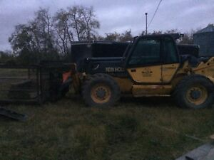 Low hrs Lm 860 54' 10k lift Newholland/manitou