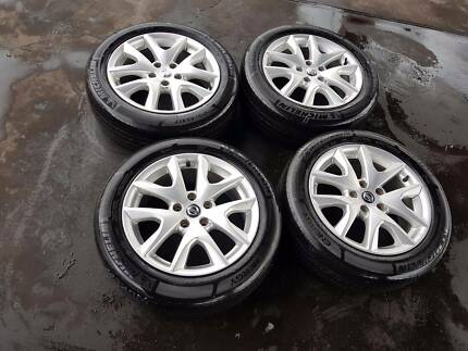 "NISSAN MAXIMA GENUINE 17"" WHEELS AND TYRES NEG $499"
