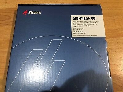 New Md-piano 80 Struers 40800121 8 Resin Bonded Diamond Grinding Disc