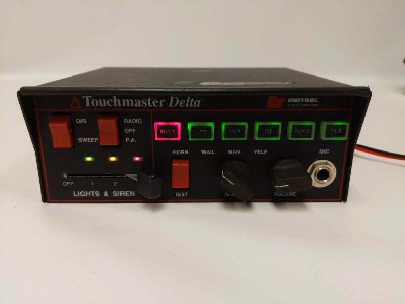 UNITROL TOUCHMASTER DELTA **TESTED WORKING**