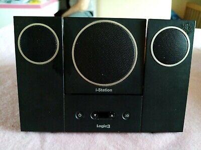 Logic3 i-Station SoundBar Lautsprecher Dock-Station + Ipod Touch 2. Generation