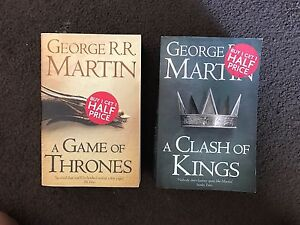 2 x George RR Martin novels Stirling Stirling Area Preview