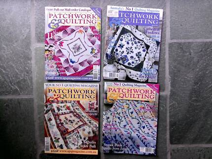 PATCHWORK , CRAFTING AND QUILTING BOOKS   Other Books   Gumtree ... : quilting books australia - Adamdwight.com