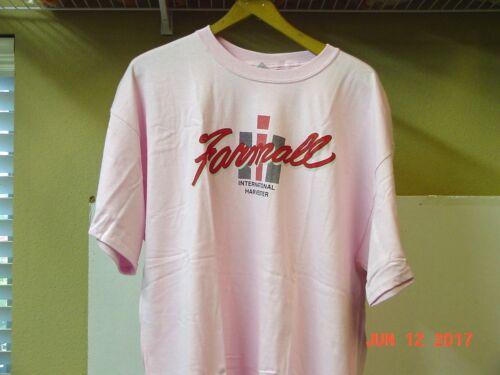 INTERNATIONAL HARVESTER PINK FARMALL T-SHIRT, NEW, SIZE  XL